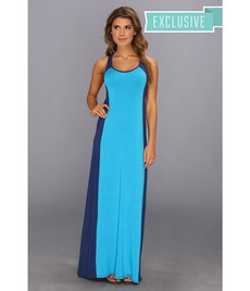 Michael Stars Colorblock Maxi Dress