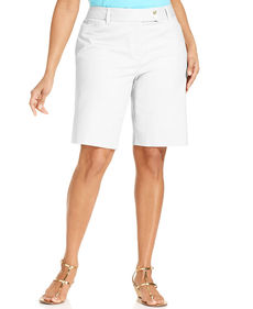 Charter Club Plus Size Bermuda Shorts