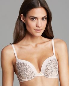 Calvin Klein Underwear Bra - Emotive Natural T-Shirt Lift # F3740
