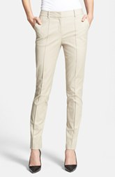 Lafayette 148 New York 'Metropolitan' Pintuck Seam Stretch Cotton Pants