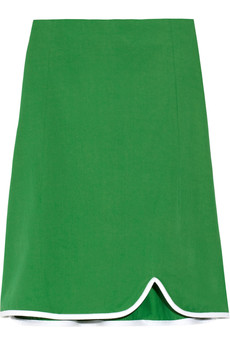 Marni Cotton-twill skirt
