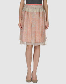 PETER SOM - Knee length skirt