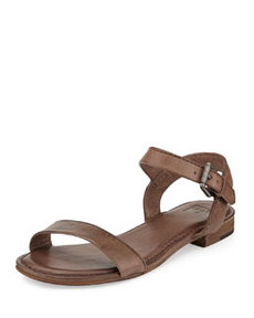 Frye Philip Two-Piece Ankle-Wrap Sandal