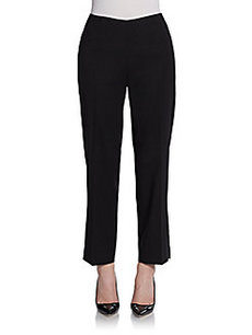 Calvin Klein Collection Cropped Straight-Leg Pants