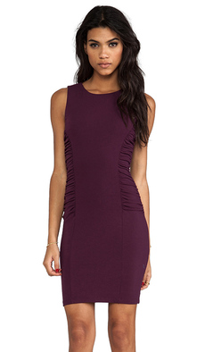 Susana Monaco Reese Dress in Wine