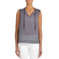 Sleeveless Cotton Tunic (Plus)