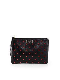 Marc Jacobs Studded Flat Zip Pouch