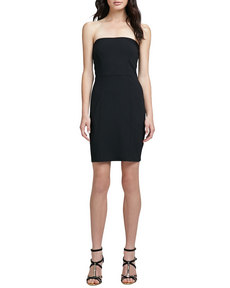 Susana Monaco Izzy Strapless Knit Dress
