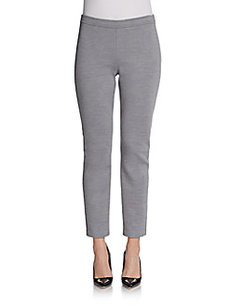 St. John Slim Alexa Knit Pants