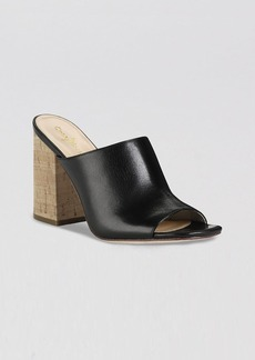 Cole Haan Open Toe Slide Pumps - Luci High Heel