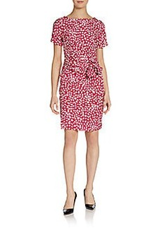 Diane von Furstenberg Leron Silk-Blend Dress