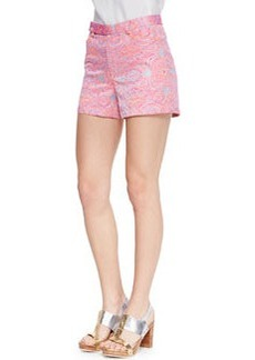 Nanette Lepore Soiree Whimsical Embroidered Shorts
