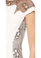 Lela Rose Lace Back Mermaid Gown