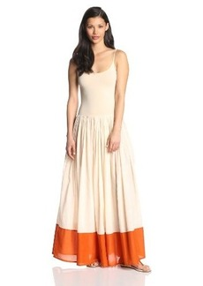 French Connection Women's Marionette Mix Maxi Dress