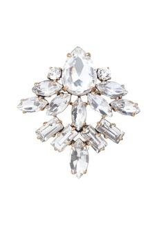 Crystal fan pin