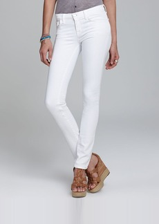 J Brand Jeans - 8112 Mid Rise Rail in Blanc