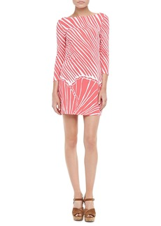 Lilly Pulitzer Topanga Shell-Print Mini-Dress