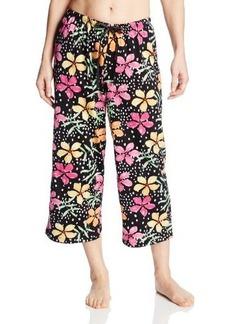Hue Sleepwear Women's Island Flowers Capri