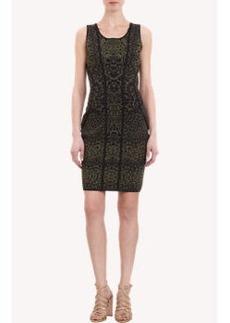 Diane von Furstenberg Rorscach-Print Dress