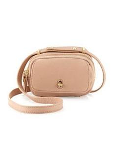 Etienne Aigner Preface Pebble Leather Mini Crossbody Bag, Blush