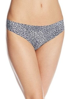 Calvin Klein Women's Invisibles Printed Thong Panty