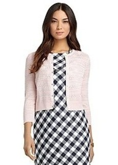 Cotton Cropped Cardigan