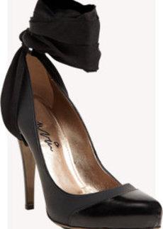 Lanvin Cap-Toe Ankle-Strap Pumps
