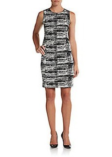 Calvin Klein Collection Lexia Printed Dress