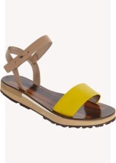 Lanvin Colorblock Sandal