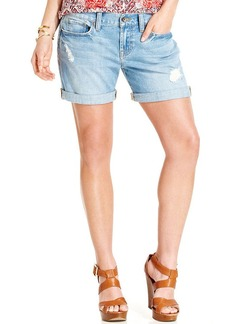 Lucky Brand Laguna Distressed Denim Shorts