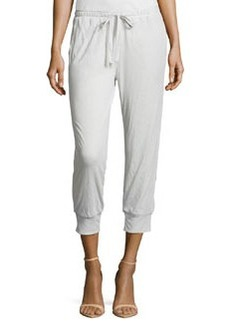 Joie Atlyn B Drawstring Ankle Pants, Dolphin Gray