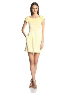 French Connection Women's Country Cotton-Stripe Dress