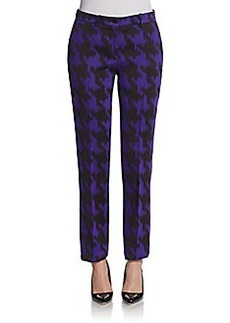 Michael Kors Houndstooth Slim Pants