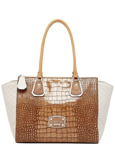 GUESS Clarksville Large Tawny Satchel