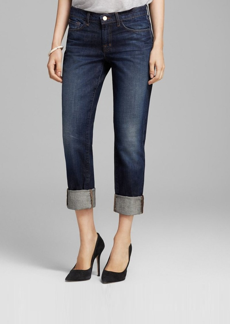 J Brand Jeans - Logan Cuff Crop in Hung Up