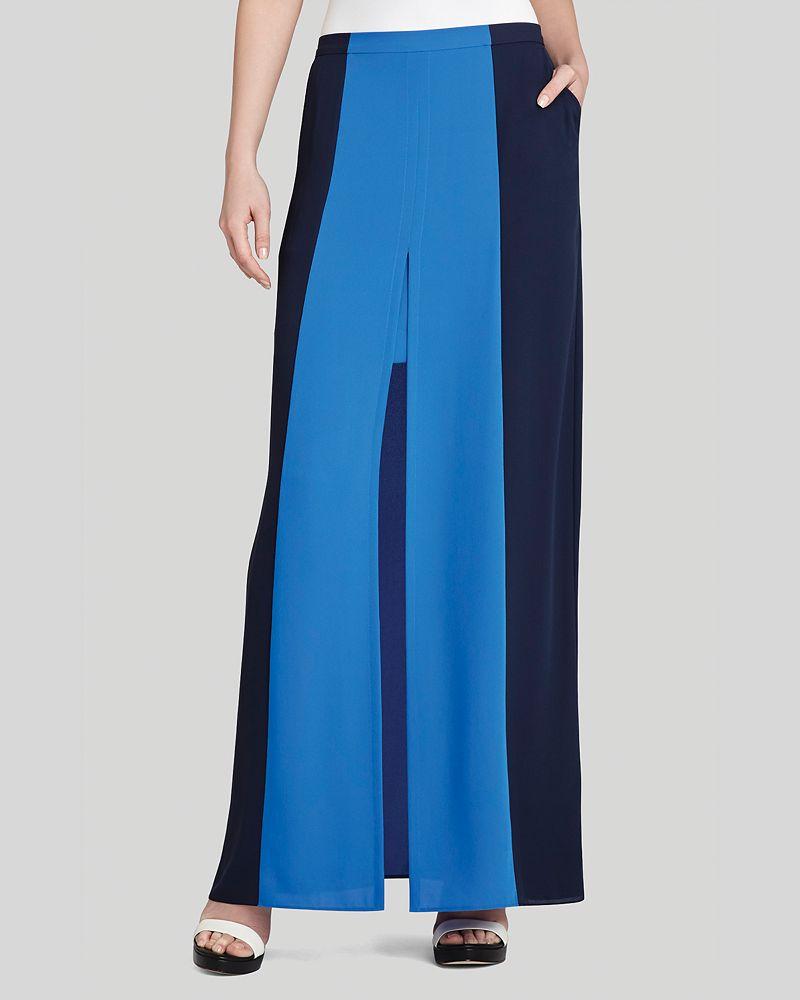 bcbgmaxazria maxi skirt color block shop it to me