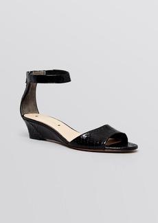 Via Spiga Open Toe Demiwedge Sandals - Terrilyn