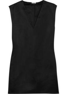 Miu Miu Silk-satin mini dress