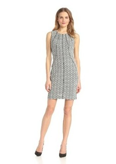 Calvin Klein Women's Seamed Dress with Piping