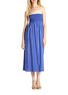 Joie Lovette Silk Strapless Dress