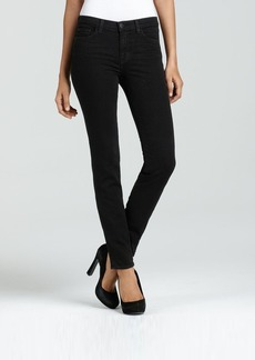 J Brand 811 Mid Rise Skinny Jeans in Shadow