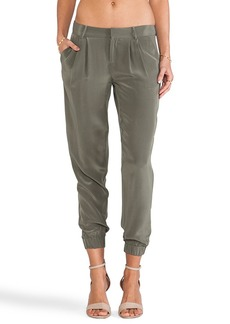 Joie Lidora Sandwashed Pants in Olive
