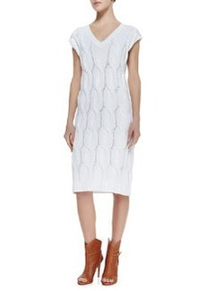 Yima Kelt Knit Cap-Sleeves Dress   Yima Kelt Knit Cap-Sleeves Dress