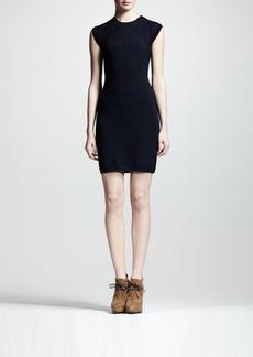 Lanvin Jewel-Embossed Sheath Dress