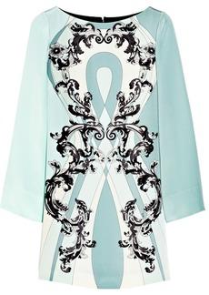 Emilio Pucci Printed silk-cady dress