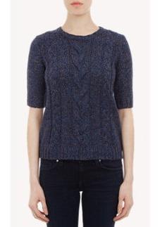 """Joie Short-Sleeve """"Yana"""" Sweater"""