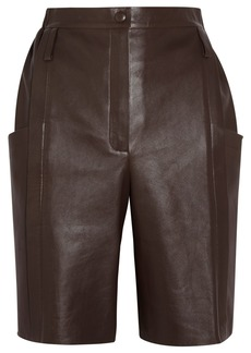 Chloé Leather shorts