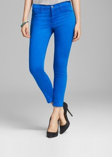 J Brand Jeans - Luxe Sateen 835 Mid Rise Crop in Breakwater