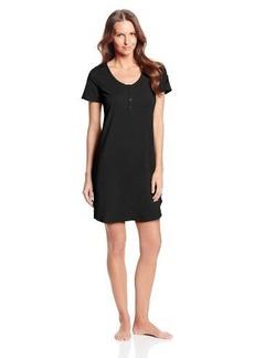 Calvin Klein Women's Short-Sleeve Cotton Nightshirt