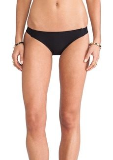Ella Moss Tab Side Bikini Bottoms in Black